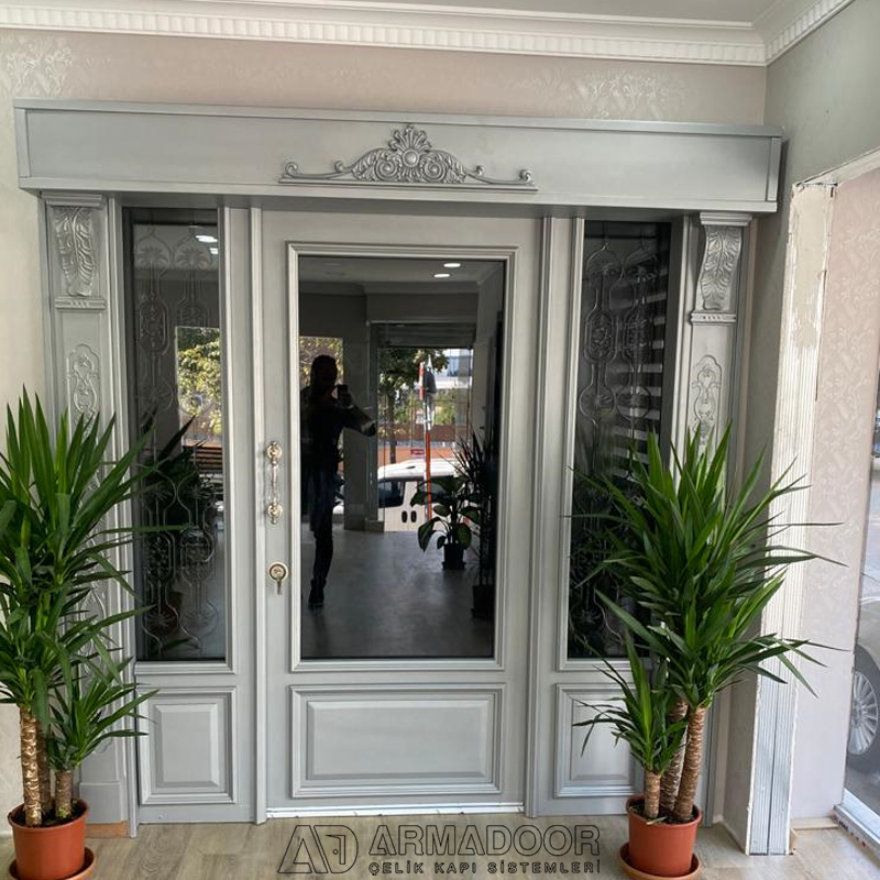 Beyaz Villa Kapısı Resimleri Modelleri| Villa Kapısı Modelleri Fiyatları | Villa Kapı Modelleri