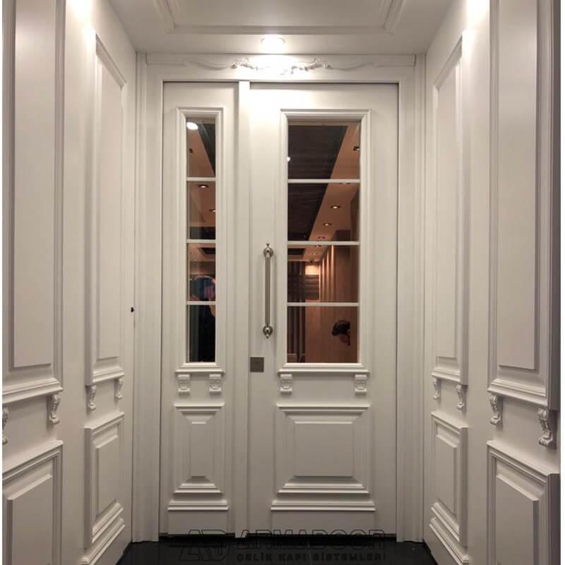 Beyaz Villa Kapısı| Villa Kapısı Modelleri Fiyatları | Villa Kapı Modelleri